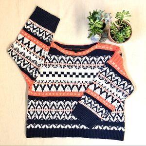 Jcrew WOOL fairisle sweaters XL